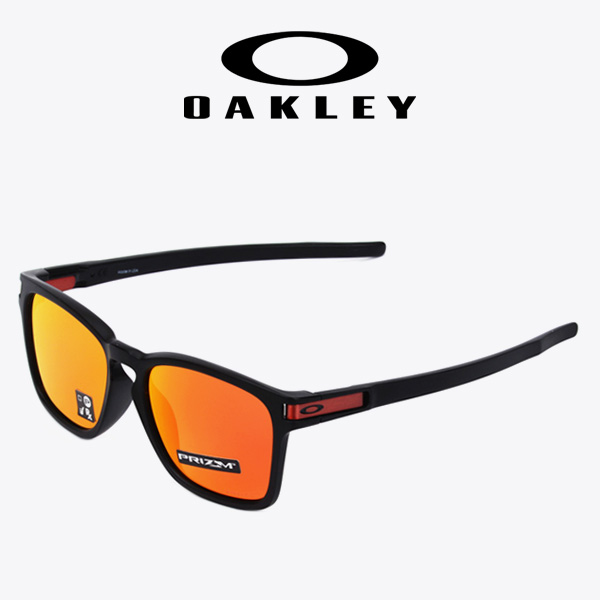 [OAKLEY] 오클리선글라스 LATCH SQ MAT OLIVE INK/EME IRID (OO9358-1155) ※특가상품