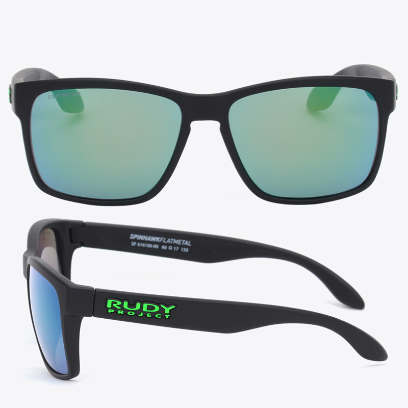 [RUDY PROJECT] 루디프로젝트선글라스 스핀호크 SPINHAWK MATTE BLACK POLAR 3FX HDR MULTILASER GREEN(SP616106-0000) (편광) (남녀공용)